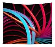 Slinky Craze 3 Tapestry