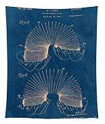 Slinky Toy Blueprint Tapestry