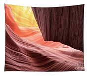 Slot Canyon Sun Tapestry