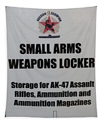 Small Arms Signage Russian Submarine Tapestry