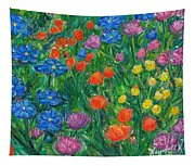 Small Flowers Tapestry