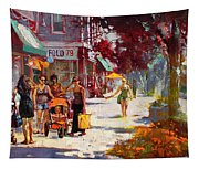 Small Talk In Elmwood Ave Tapestry