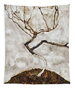 Small Tree In Late Autumn Tapestry