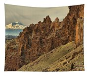Smith Rock And Cascades Tapestry