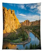 Smith Rock River Bend Tapestry
