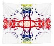 Smoke Cross 4 Tapestry