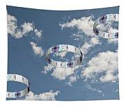 Smoke Rings In The Sky 2 Tapestry