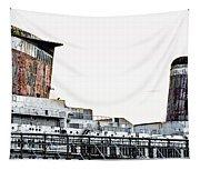 Smoke Stacks - Ss United States - Philadelphia Tapestry