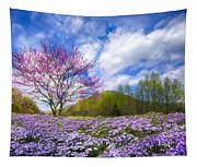 Smoky Mountain Spring Tapestry