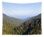 Smoky Mountain View Tapestry