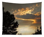 Smoky Summer Afternoon Sky Tapestry