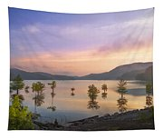 Smoky Sunset Tapestry