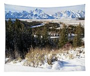 Snake River Overlook Tapestry