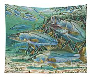 Snook Attack In0014 Tapestry