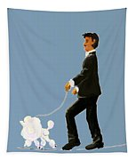 Snooty Poodle Tapestry