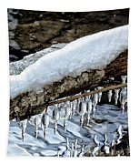 Snow And Icicles No. 1 Tapestry