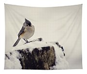 Snow Bird Tapestry