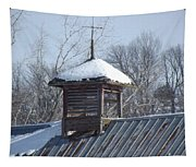 Snow Cupola Tapestry