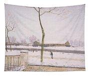 Snow Effect Effet De Neige Pastel On Paper C. 1880-1885 Tapestry
