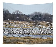 Snow Geese Tapestry