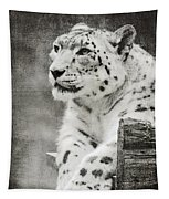 Snow Leopard 2 Tapestry