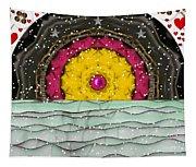 Snow Love Pop Art Tapestry
