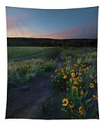 Snow Mountain Trail Tapestry