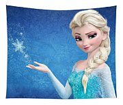 Snow Queen Elsa Frozen Tapestry
