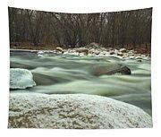 Snow Rock Tapestry