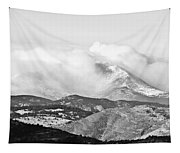 Snow Storm On The Twin Peaks Longs And Meeker Tapestry