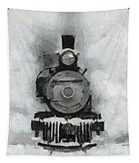 Snow Train Tapestry