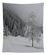 Snow Tree Tapestry