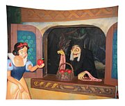 Snow White With Apple Tapestry