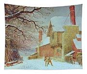 Snowballing At Tiddlington Tapestry