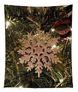 Snowflake Ornament Tapestry