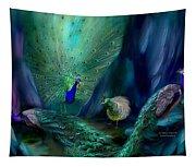 So Many Peacocks Tapestry