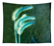 Soft Blue Grass Tapestry