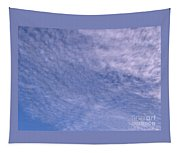 Soft Clouds Blue Sky Tapestry