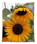 Soft Colors Sunflowers Tapestry