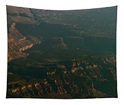 Soft Early Morning Light Over The Grand Canyon 2 Tapestry