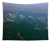 Soft Early Morning Light Over The Grand Canyon 5 Tapestry