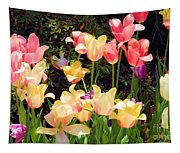 Soft Spring Colors Tapestry