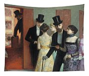 Soiree At The Opera Tapestry