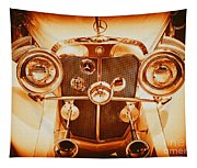 Solid Gold Mercedes Tapestry