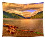 Solitude On Crescent Lake Tapestry