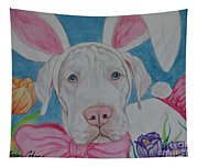 Some Bunny Says Spring Has Sprung Tapestry