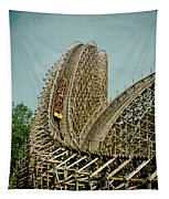 Son Of Beast Roller Coaster Tapestry