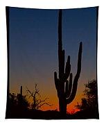 Sonoran Desert Sunrise Poster Print Tapestry