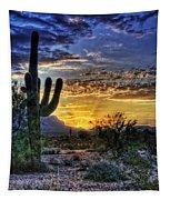 Sonoran Sunrise  Tapestry