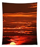 Soothing Saturday Sunset Tapestry